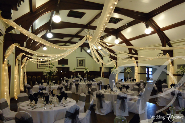 Bocking Village Hall Wedding Drapes