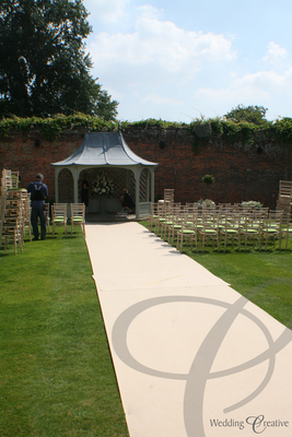 Outdoor Ceremony Aisle Carpet