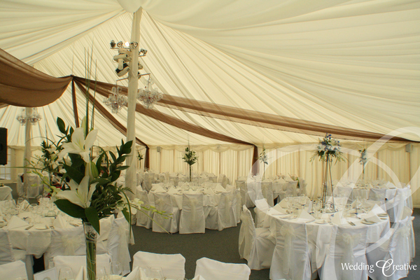 Coloured Marquee Drapes
