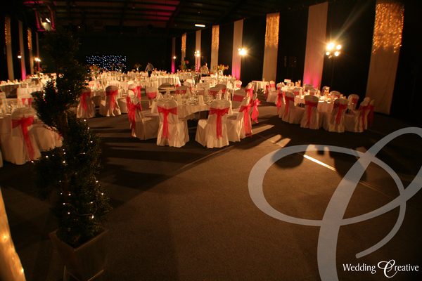 Sports Hall Wedding Decoration