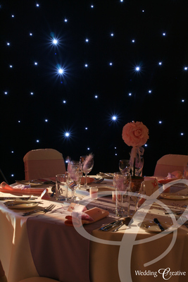 Star Cloth Wedding Backdrop
