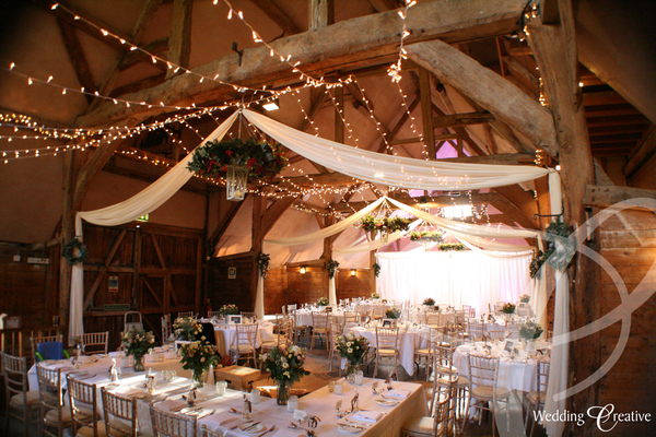 Lains Barn Wedding Lighting