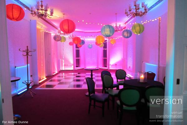 Venue Dressing At Oakwood House Wedding Creative