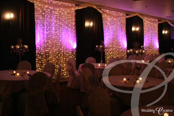 Crown Hotel Bawtry Wedding Drapes