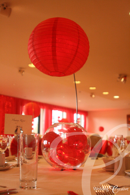 Paper Lantern Table Centre Piece