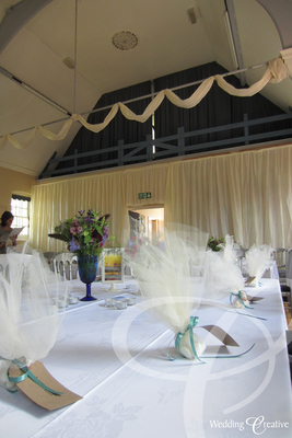 Community Centre Wedding Decorations
