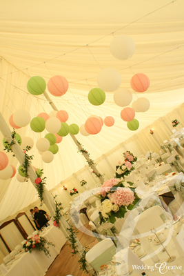Chinese Paper Wedding Lanterns
