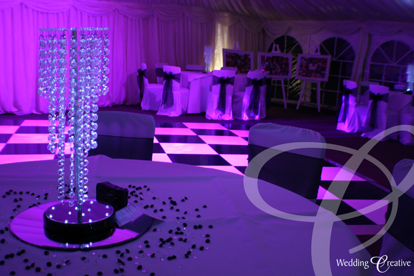 Crystal Table Centre Piece