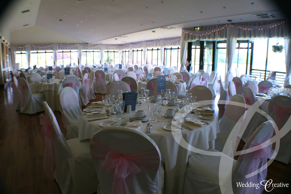 Maldon Essex Wedding Drapes