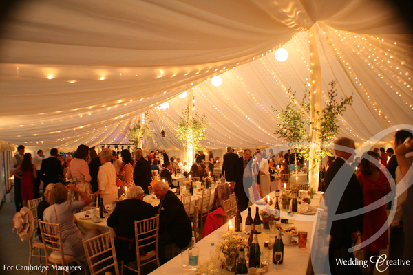 Fairy Light Canopy Marquee