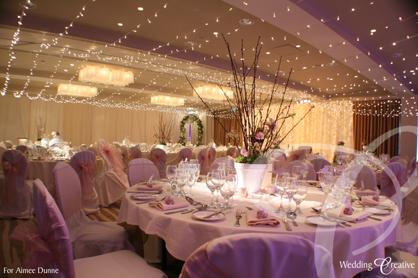 Fairy Light Canopy Wedding