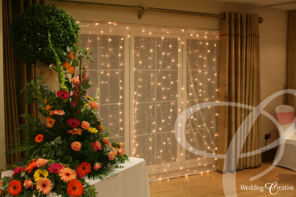 Essex Fairy Light Drapes