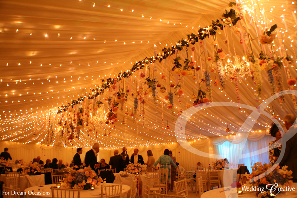 Fairylight Canopy Lighting