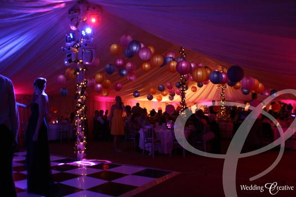 Venue Dressing At Wedding Marquee Wedding Creative