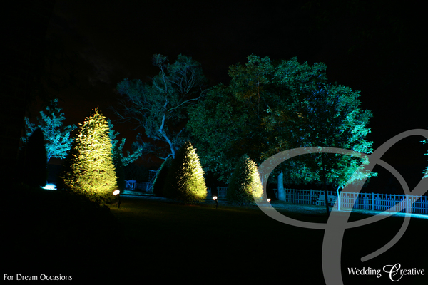 Exterior Event Lighting