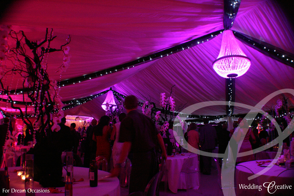 Wedding Venue Styling Marquee