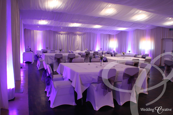 Pill Social Centre Hall Draping