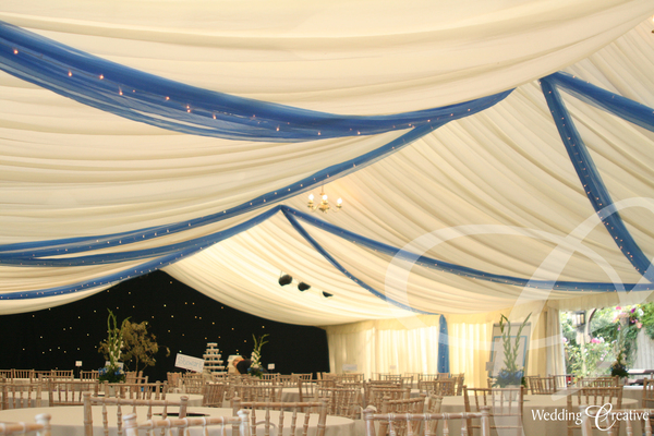 Orgnaza Marquee Draping