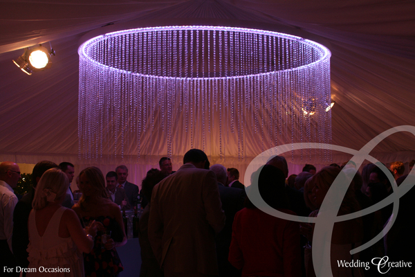 Wedding Feature Circle Chandelier