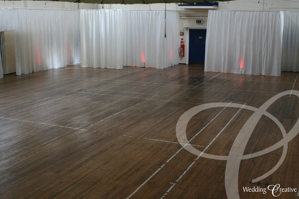 Sports Hall Event Drapes Kent