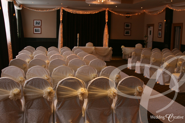 wedding design The Crown Hotel Bawtry South Yorkshire - country wedding barn