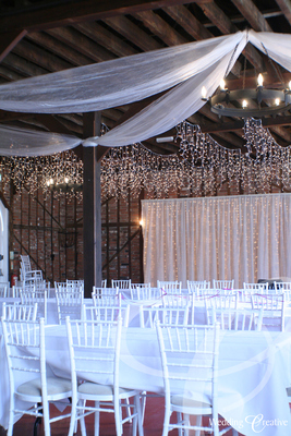 Organza Ceiling Draping
