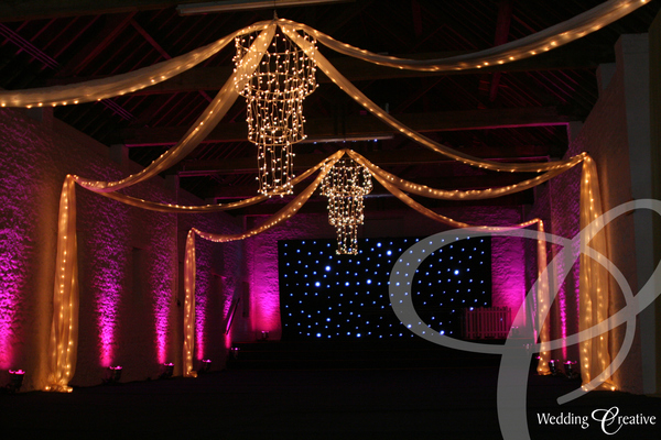 Barn Wedding Reception Decoration