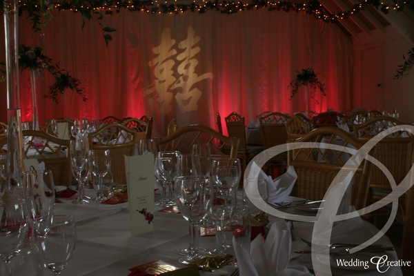 Monogram Wedding Lighting