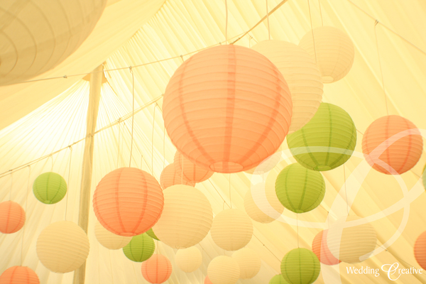 Wedding Round Paper Lanterns