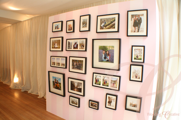 Wedding Photo Wall Ideas