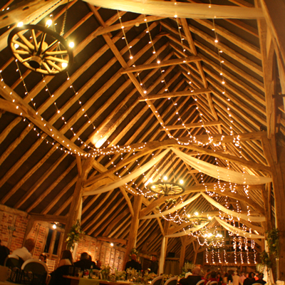 feature wedding lighting design