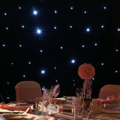 starcloth wedding drapes
