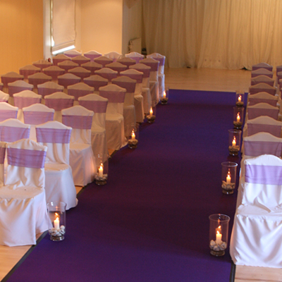 wedding aisle carpet runner